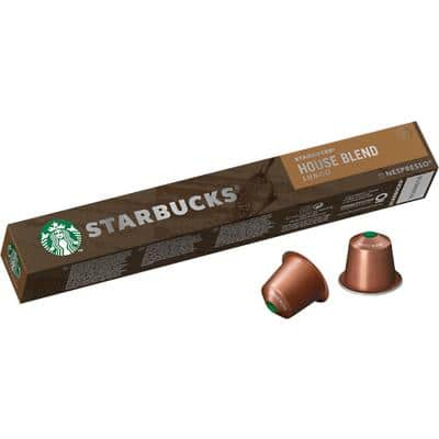 Starbucks House Blend Lungo Coffee Pods 57 g Pack of 10