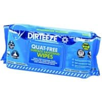 Dirteeze Quat-Free Surfaces Sanitising Wet Wipes Pack of 200