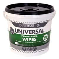 Dirteeze Universal Wet Cleaning Wipes Pack of 150