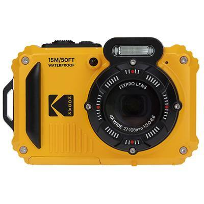 Kodak Waterproof Digital Camera PIXPRO WPZ2 Yellow