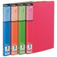 Pentel Display Book Recycology A4 Assorted Polypropylene 24 x 6 x 31 cm Pack of 4