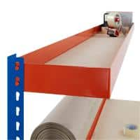 Bigdug Packing Workbench Big400 B4PS1806BOM Steel Melamine 400 kg Blue and Orange 1677 x 1830 x 610