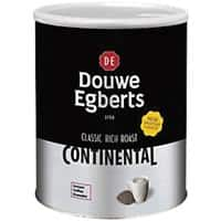 Douwe Egberts Continental Instant Coffee Tin Classic Rich Roast 750g