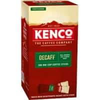 Kenco Freeze Dried Decaffeinated Instant Coffee Sticks 1.8g Pack of 200