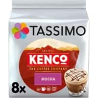Tassimo Mocha Coffee Pods Pack of 8 of 208 g