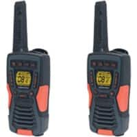 Cobra Walkie Talkie AM1035 Kit Black and Orange 12 Km 8 Channels 38.1 x 190.5 x 60.96