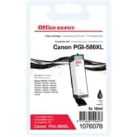 Office Depot Compatible Canon PGI-580XL Ink Cartridge Black