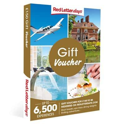 Red Letter days Gift Voucher £150