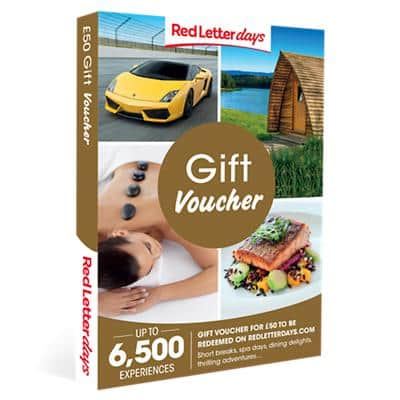 Red Letter days Gift Voucher £50