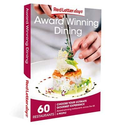 Red Letter days Award Winning Dining