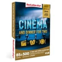 Red Letter days Cinema and Dinner for Two