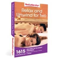Red Letter days Relax and Unwind For Two Gift Box