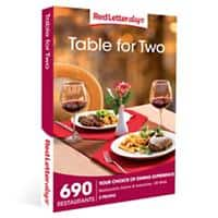 Red Letter days Table for Two Gift Box