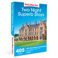 Red Letter days Two Night Superb Stays Gift Box