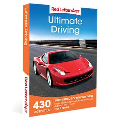 Red Letter days Ultimate Driving Gift Box