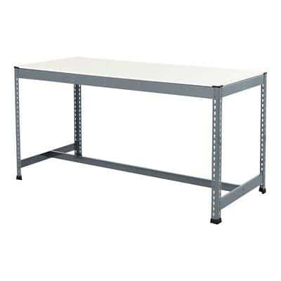 Bigdug Steel T-Bar Melamine Workbench Big400 with 1 Level 400 Kg 915 x 1830 x 915 mm