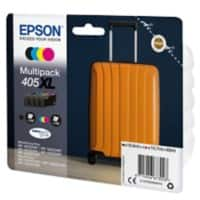 Epson 405XL Original Ink Cartridge C13T05H640 Black, Cyan, Magenta, Yellow 4 Pieces