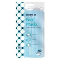 Proteqt Face Mask Type IIR Non Woven Blue Pack of 10