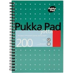 Pukka Pad Notebook JM021 A5 Feint White 3 Pieces of 100 Sheets