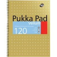 Pukka Pad Notebook A4+ Ruled Brown 3 Pieces of 60 Sheets