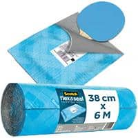 Scotch Flex and Seal Shipping Roll Blue 380mm x 6m