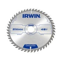 IRWIN General Purpose Table and Mitre Saw Blade 216 x 30 mm x 48T