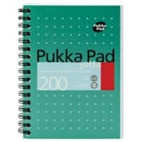 Pukka Pad Notebook A6 Ruled White 3 Pieces of 100 Sheets