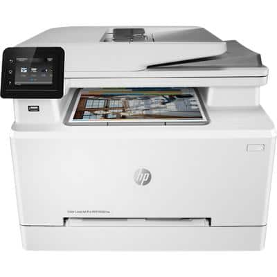 HP Laser Colour Multifunction 3in1 White 7KW72A#B19