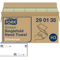 Tork Hand Towels H3 Universal 1 Ply C-fold Green Pack of 20