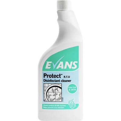 Evans Vanodine Disinfectant Cleaner Protect Floral