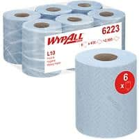 Kimberly-Clark Professional Wiping Paper Wypall Reach Blue Pack of 6