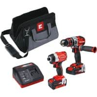 Einhell 4257200 Power X-Change Combi and Drill Driver Twinpack Cordless 18 V Brushed