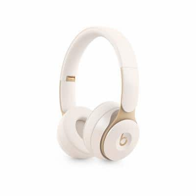Apple Solo Pro Wireless Headphones Head-band USB Type-A Bluetooth Noise Cancelling With Microphone Ivory