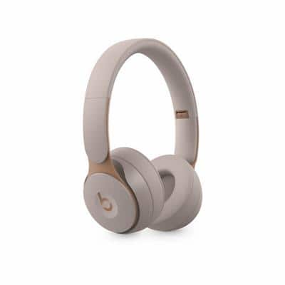 Apple Beats Solo Pro Wireless Stereo Headphone Over the Head Noise Cancelling Bluetooth with Microphone Grey USB Type-A