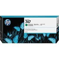 HP 747 Original Ink Cartridge P2V84A Chromatic Green