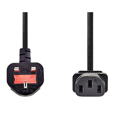 Valueline Power Cable 2m Black