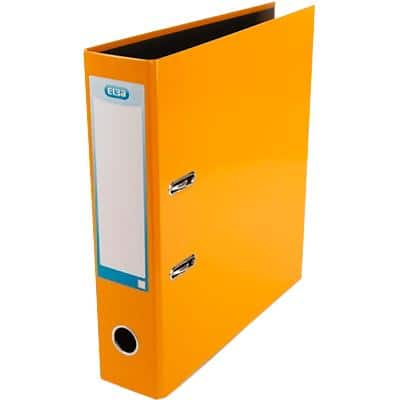 ELBA Lever Arch File Classy 70 mm Glossy Paper, Cardboard 2 ring A4 Orange