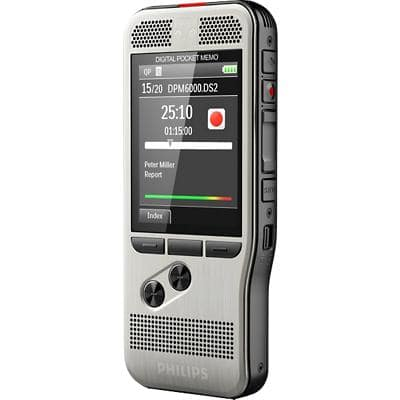 Philips Voice Recorder PocketMemo DPM6000 Grey