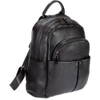 Falcon Tablet Backpack FI6711 11 Inch Leather Black 28 x 16 x 34 cm