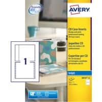 Avery J8435 Optical Disc Label 151 x 118 mm White 25 Sheets of 1 Label