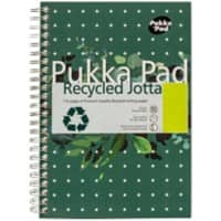 Pukka Pad Notebook Recycled Jotta A5 Ruled White 3 Pieces of 110 Sheets