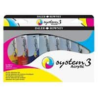 System 3 Paint Set Acrylic Assorted