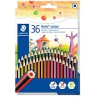 STAEDTLER Coloured Pencil Noris Assorted Pack of 36
