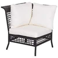 Outsunny Rattan Single-Seat Sofa 860-007 Black, Beige