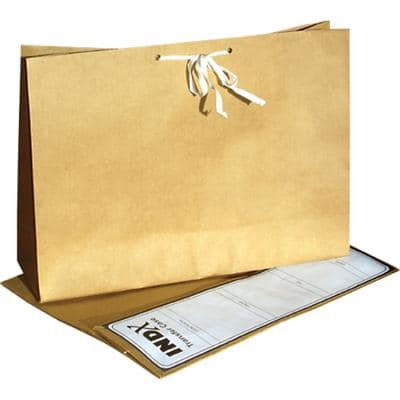 Transfer File A4 Brown Pack of 25