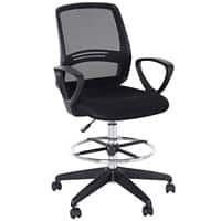 Vinsetto Tall Office Chair Black Mesh Fabric, Plastic, Foam, Metal 921-187V70