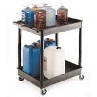 GPC Shelf Trolley Black Lifting Capacity Per Shelf: 85kg 640mm x 960mm x 920mm