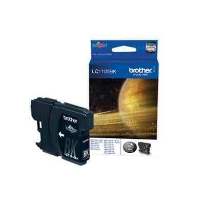 Brother LC-11BK Black Ink Cartridge 2 stuks Original 2 pc(s)