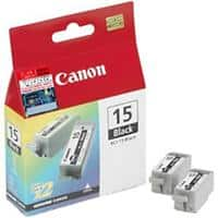 Canon Cartridge BCI-15 Black Original 2 pc(s)
