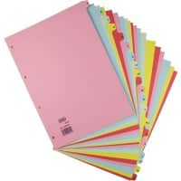 ELBA Dividers A4 Assorted Cardboard A - Z